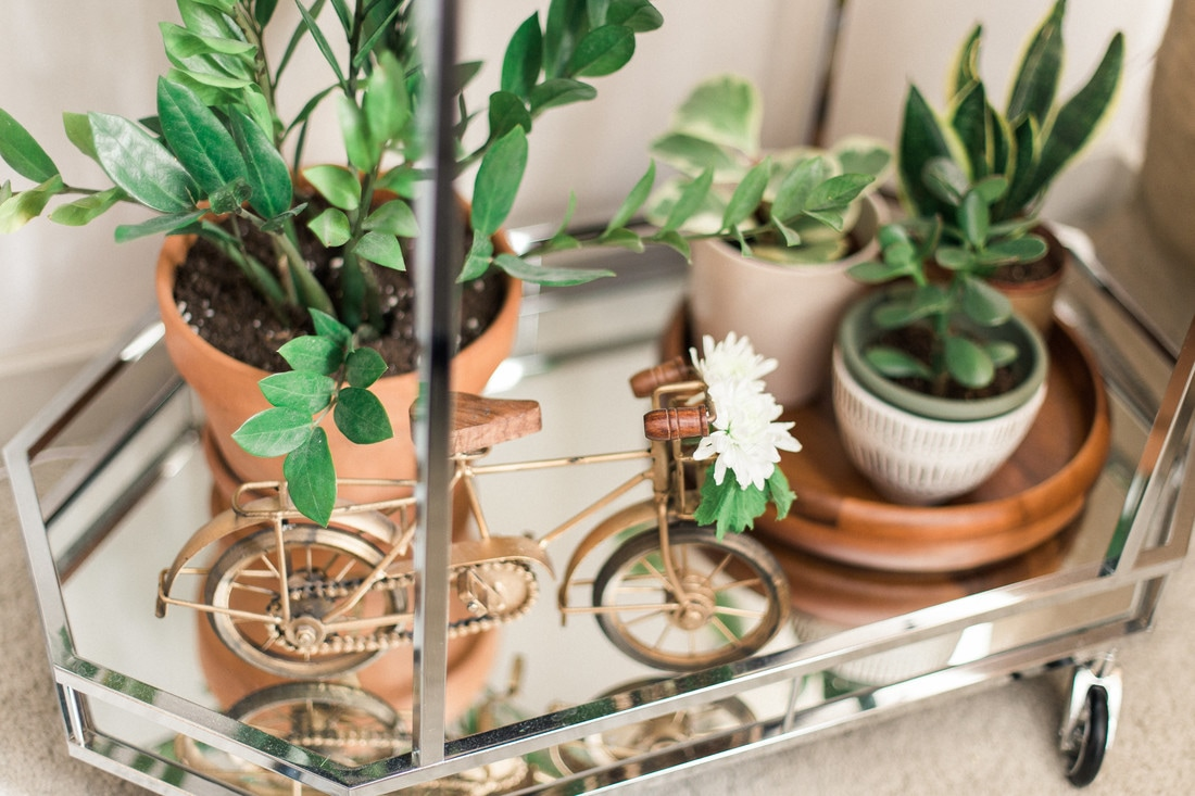Three Ways to Use and Style a Bar Cart
